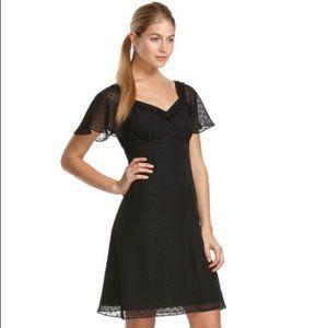 ALICE TEMPERLEY FOR TARGET - SWISS DOT BLACK DRESS